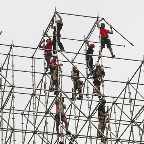 Демонтажные работы на высоте